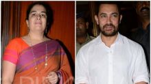 Video: Aamir Khan rings in ex-wife Reena Dutta's 50th birthday