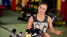 With UFC future in question, Ronda Rousey continues protest of President Trump