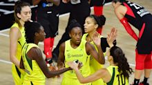 WNBA Finals: Storm keep setting records in 104-91 Game 2 win over Aces