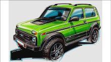 Lada Niva ganha série especial feita na Alemanha que os russos não podem comprar