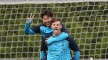 'Best friends' Heung-min Son and Kevin Wimmer show off new handshake to Tottenham fans in South Korea