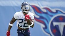 Titans RB Derrick Henry looks to hold the torch for old school running backs vs. Broncos on Yahoo Sports app