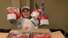 Woodland Park boy donates 1,000 sanitizer sprays to town amid coronavirus concerns