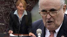 Trump trial team detours into a defense of Rudy Giuliani