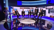 Tory leadership candidates clash over Brexit in chaotic televised debate
