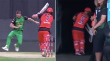 Aaron Finch blows up over another bizarre dismissal