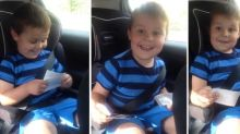 5-Year-Old Can't Contain His Excitement When He Finds Out He'll Be a Big Brother