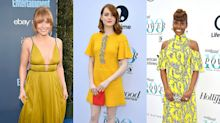 Yellow is the new black: Why actresses are opting for golden hues