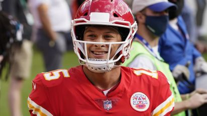 Mahomes' affection for ketchup knows no limits