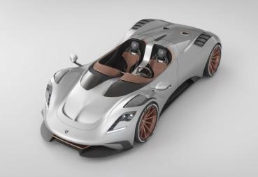 換上訂製華服的上空逸品,Ares S1 Project Spyder展現義大利的設計美學