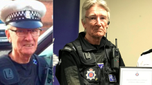 'Age is just a number!' Police officer, 74, chases down car chase suspect, 29, on foot, to make arrest