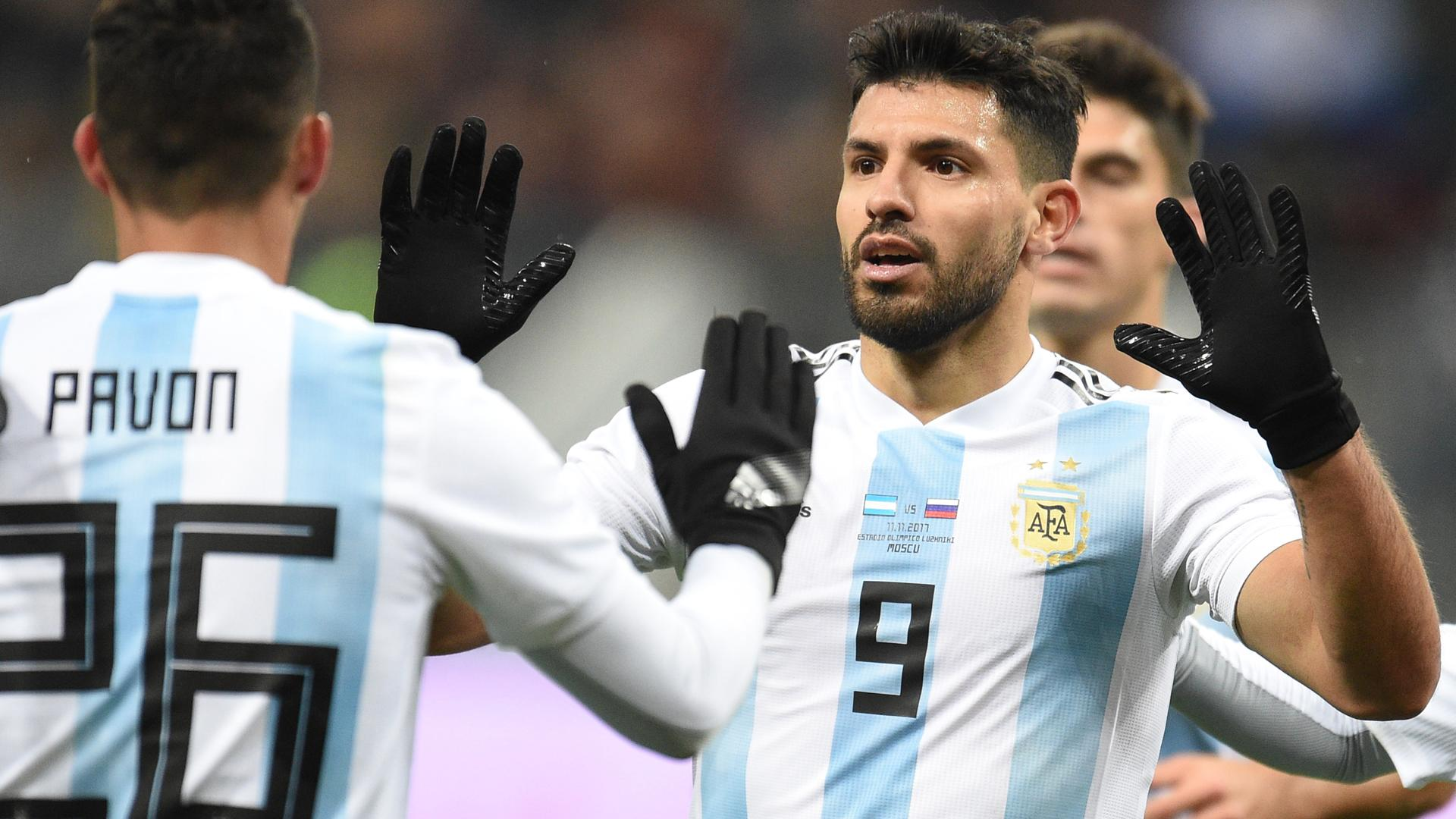 aguero moves past maradona but wants more from argentina