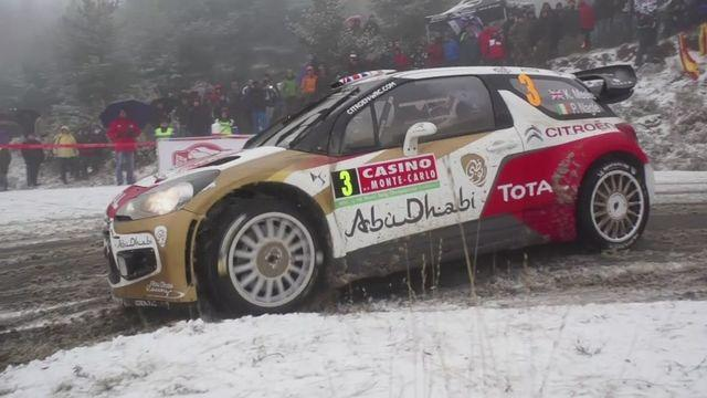 Bouffier leads Monte Carlo Rally