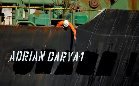 U.S. says it has evidence Adrian Darya 1 oil transferred to Syria