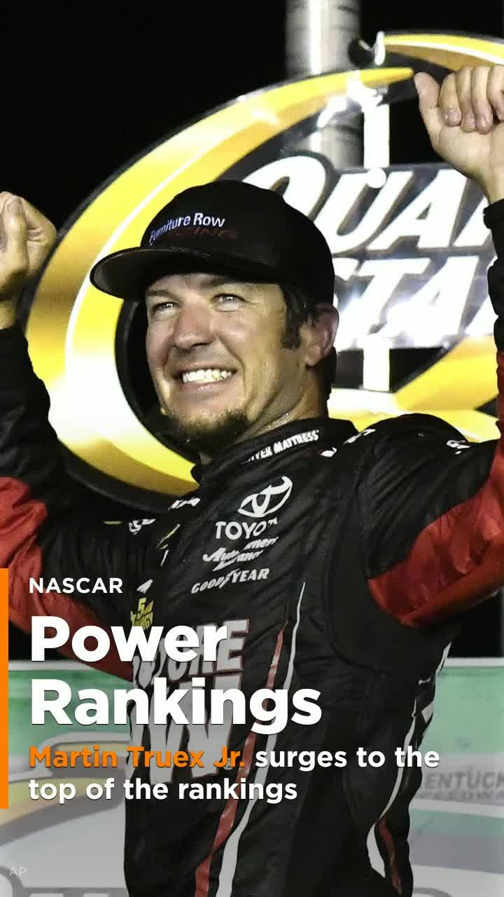 Nascar Power Rankings Martin Truex Jr Surges To The Top