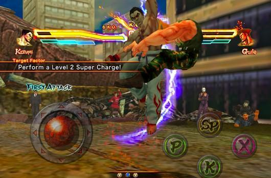 Street Fighter X Tekken variant arrives on iOS for free