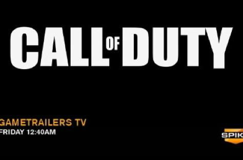 Next Call of Duty to be announced on GameTrailers TV this week
