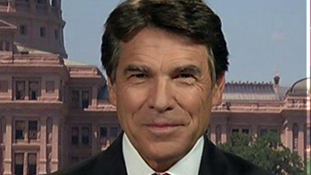 Gov. Rick Perry: This is a culture of intimidation