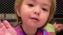 Você precisava desse vídeo da Zoe te desejando 'Bom Dia' e não sabia!