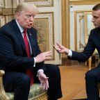 Trump rips Macron for denouncing nationalism: 'MAKE FRANCE GREAT AGAIN!'
