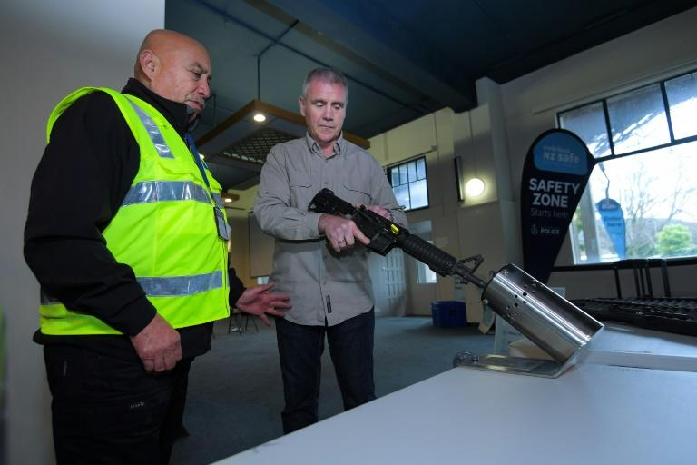 Police said 56,350 firearms and 188,000 parts had been handed in and they were expecting a late rush before the final collection event on Friday