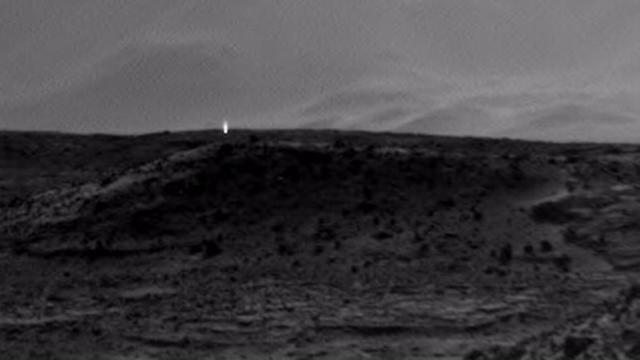 Mystery Mars light caught on camera by NASA
