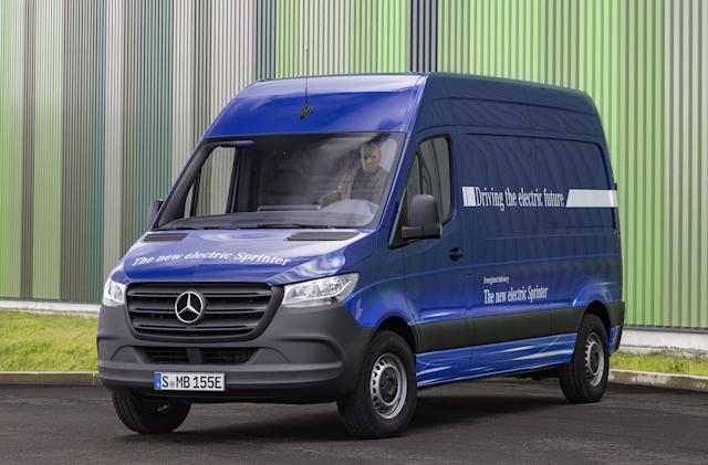 Mercedes eSprinter's range is meant for deliveries, not road trips