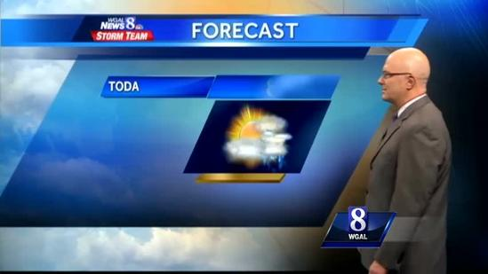 Hazy, hot and humid conditions expected today