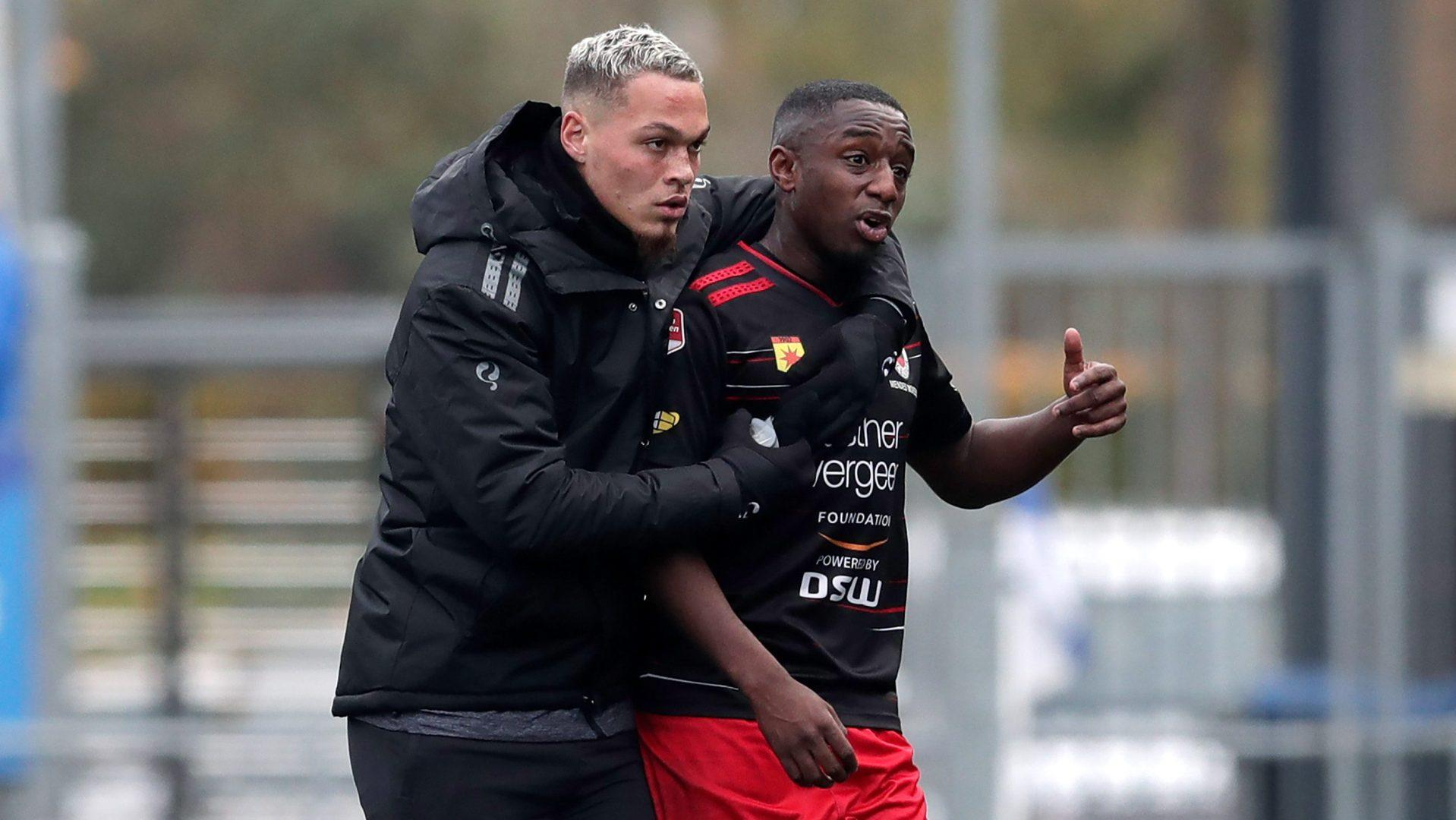 VIDEO: Dutch 2nd-division game stopped for racist abuse; player later scores goal