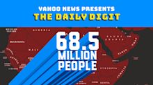 Daily Digit: 68.5 million people are displaced due to conflict and natural disaster