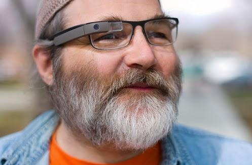 Google Glass is, in fact, compatible with prescription glasses