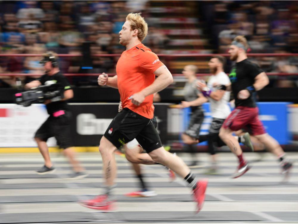 """Platz 2 der Männer: Die CrossFit Games bescherten Patrick Vellner vergangenes Jahr Platz 3 und den Titel """"Rookie of the Year"""". Ob es 2017 für den einstigen Lacrosse- und Rugby-Spieler für mehr reicht? (Bild-Copyright: Photo courtesy of CrossFit Inc.)"""