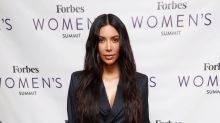 Kim Kardashian's Louis Vuitton Trash Cans Are the Definition of Extra