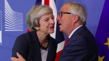 Theresa May insists Brexit transition period extension would only last for 'a matter of months'