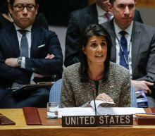 US envoy Haley to present 'irrefutable evidence' on Iran