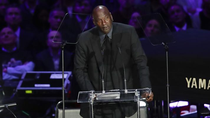 The Rush: Beyonce, Michael Jordan and others remember Kobe at Staples Center