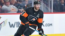 Couturier injured in Philadelphia victory