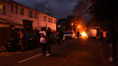 Protesters clash with police over 25-year-old who died days after he was stopped by police
