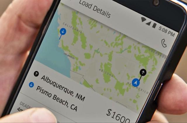 Uber is ready to help truck drivers find cargo