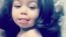 Mum defends her toddler's straightened hair after setting Instagram on fire