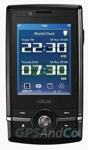 ASUS P560 sports Windows Mobile 6.1, many acronyms