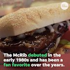 The McRib, McDonald's fan favorite barbecue sandwich is making a comeback very soon