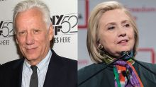 James Woods dismisses suspected bomb sent to Clintons as an 'obvious political stunt'