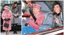 Kate Middleton and the Queen melt hearts by sharing a blanket