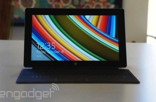 Pre-orders for the Surface 2 with LTE are now open in the UK