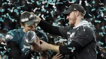 The Latest: White House says Eagles abandoned their fans