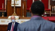 Mort de George Floyd: Biden relance sa campagne dans une Amérique meurtrie