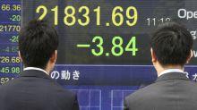 Global stocks turn higher on upbeat corporate earnings