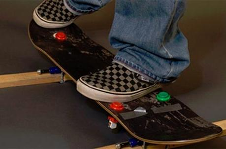 Tony Hawk: Ride prototype skateboards employ arcade buttons, duct tape, love