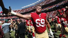 49ers' Mike McGlinchey hopes NFL players hold themselves accountable